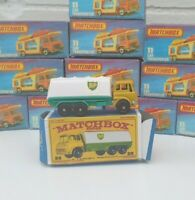 Vintage Matchbox Lesney No25 Bp Tanker