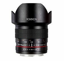 Rokinon 10mm F2.8 ED AS NCS CS Ultra Wide Angle Lens Canon EF-S Model 10M-C