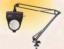 Deluxe Swiveling Desk Magnifier Lamp 2x