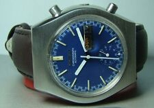 Vintage Seiko Chronograph Automatic Day Date 653473 Mens Watch Used Y442 Antique