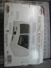 NEW Smiths Tri-Stage Deluxe Diamond Electric Knife Sharpener ELECTRIC/MANUAL OPT
