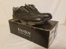 FootJoy Synr-G Mens Golf Shoes 53891 Black size 10 medium