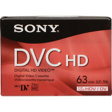 1 Sony HD DVM-63HDR DV tape for HC9 FX1 HVR V1U Z7U Z7 Z5U A1U HD1000U camcorder
