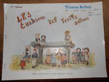 Les Chansons des Petits Bretons 1er Album - Théodore Botrel