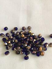 Czech Glass Faceted Beads 6mm x 50 ( 12)