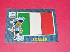 PANINI FOOTBALL 1978 ECUSSON JEAN DENIM ITALIA ITALIE ARGENTINA 78 WC WM MUNDIAL