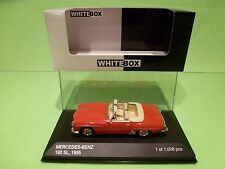 WHITEBOX 183619 MERCEDES BENZ 190 SL 1955 - CABRIOLET - RED 1:43 - NMIB