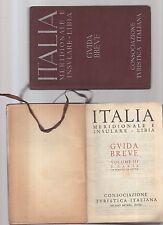 italia meridionale e insulare-libia - guida breve - 1940