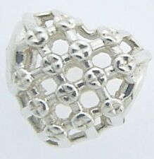 2010-3266  CHAMILIA STERLING SILVER WOVEN HEART CHARM NEW WITH POUCH