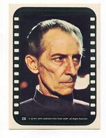 1977 TOPPS STAR WARS STICKER # 28 SERIES 3 TRADING CARD Grand Moff Tarkin
