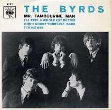 "BYRDS ""Mr. TAMBOURINE MAN"" ORIG PORT EP 1966 M-"