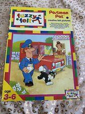 Vintage Postman Pat Fuzzy Felt