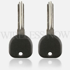 2 Car Transponder Ignition Key Blank For 2007 2008 Chevrolet Uplander