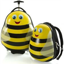 Heys America Travel Tots Kids 2 Piece Luggage & Backpack Set - Bumble Bee