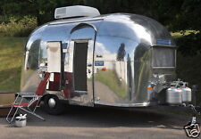 1961 Airstream Bambi, Travel Trailer, Camper, Refrigerator Magnet,40 MIL
