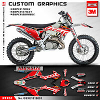 Custom Graphics Vinyl Sticker Kit for GAS GAS XC EC RANGER 200 250 300 2018 2019