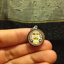 Mini Guan Yin Kwan Yin Goddess 观音 Chinese Buddha Amulet Luck Rich Protect Rare