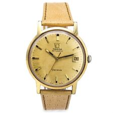 Vintage Omega Geneve Cal. 565 Automatic Men's Date Watch 34.5 mm Ref. 166.070