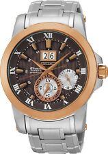 Seiko SNP128 SNP128P1 Mens Premier Kinetic Perpetual Calendar Watch RRP $1500.00