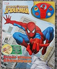 Marvel The Spider-Man Super Villain Showdown Storybook and Talking Wristband