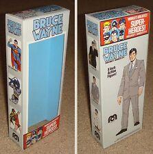 """MEGO 8"""" BRUCE WAYNE ALTER EGO CUSTOM BOX ONLY"""