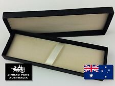 JINHAO Black Card Fountain Pen Gift Box with Foam Lining and Strap