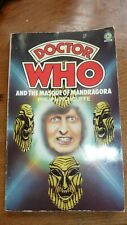 *DOCTOR WHO AND THE MASQUE OF MANDRAGORA - RARE 1977 TARGET P/B