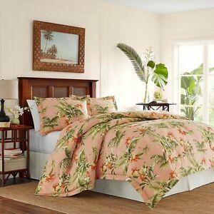 Tommy Bahama Siesta Key 4-Piece King Comforter Set in Cantaloupe