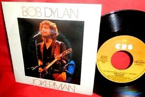 "BOB DYLAN Jokerman / Isis 7"" 45rpm + PS ITALY 1983 MINT-"