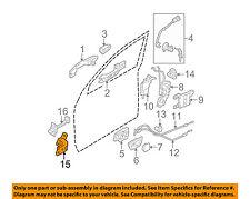KIA OEM 05-10 Sportage-Door Hinge-Upper Right 793202E000