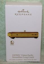 Hallmark Keepsake Lionel Union Pacific Streamliner Long Coach Ornament 2010