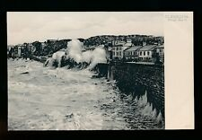 Somerset CLEVEDON Rough Sea pre1919 PPC