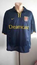 Football shirt soccer Arsenal Third 2000/2001/2002 Nike jersey Vintage GUNNER L