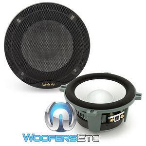 """2 MIDS ONLY KAPPA PERFECT INFINITY 5.25"""" PRO 400W MIDRANGES MIDBASS SPEAKERS NEW"""
