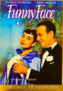 Funny Face DVD 1957 Audrey Hepburn Fred Astaire Rare Movie - Australian Region 4