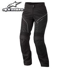 Pantaloni in tessuto bianco per motociclista