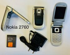 Nokia 2760 - Smoky Grey Klapphandy ohne Simlock, ohne Branding