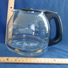 Mr. Coffee Black 12-Cup Carafe GUC Twelve PLD12-RB Glass Clean Pot Decanter Mr