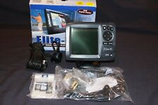 Lowrance Elite 5 Fishfinder Gps Chartplotter w/ Navionics Bracket & Transducer