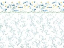 1:12scale Dolls House Wall Paper Symphony Blue PP80