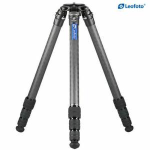 Leofoto LM-324C Carbon Fiber Tripod for Heavy Camera and Lenses,Capacity 55 lb