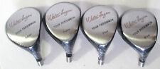 Walter Hagen Tour Persimmon Wood Head Set Driver 3 4 & 5 Wood Golf Club Heads