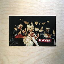 Supreme logo sticker vinyl decal skateboard laptop bogo Slayer metal murder SK8