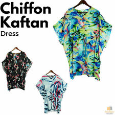 Chiffon Kaftan Machine Washable Dresses for Women
