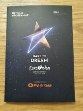 Offical Book Programme Eurovision 2019