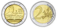 LUXEMBURG 2 EURO 150. JAHRESTAG DER LUXEMBURGER VERFASSUNG 2018 bankfrisch