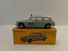 Dinky Toys 556 Citroen ID19 Ambulance, Made in France, 1962-1970 w/box.  Mint