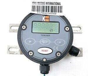 Kobold Zod Z1KS0F300 Flow Rate Totaliser Fully Programmable Self-Powered IMI