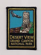 Desert View Grand Canyon National Park Souvenir Arizona Patch