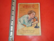 BA849 Vintage Jell-O Recipe Booklet Illustrated By Rosie O'Neil